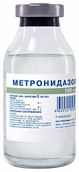 Метронидазол 0,5% 100мл 48 шт. раствор для инфузий флакон красфарма