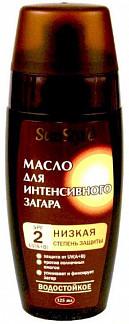 Санстайл масло для интенсивного загара spf2 125мл