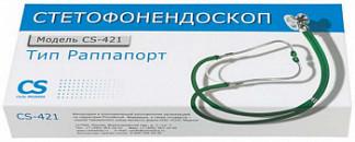 Сиэс медика стетофонедоскоп cs-421 зеленый