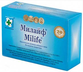 Милайф таблетки 500мг 30 шт.