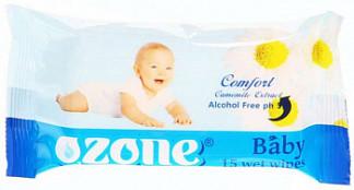 Озон салфетки влажные детские ромашка 15 шт.