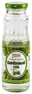 Стэлмас сок березовый с сахаром 0,25л упаковка