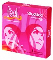 Фил презервативы с пупырышками 3 шт.