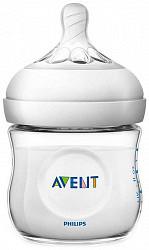 Авент натурель бутылочка для кормления (scf030/17) 125мл