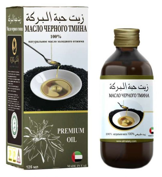 Роял масло из семян черного тмина растительное пищевое нерафинированное 125мл, фото №1