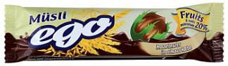 Эго мюсли орех в шоколаде 25г