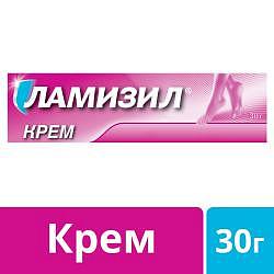 Ламизил крем для лечения грибка стопы, крем 1%, 30г