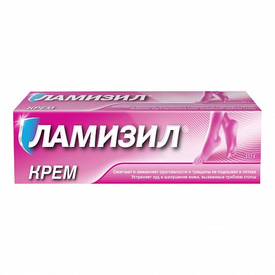 Ламизил крем для лечения грибка стопы, крем 1%, 30г, фото №3