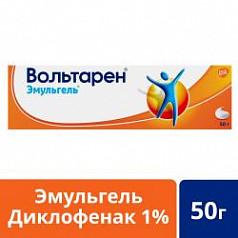 Вольтарен эмульгель при боли в спине, мышцах и суставах, гель 1%, 50г