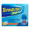 Терафлю лар таблетки против вирусов и боли в горле, таблетки, 16 шт, фото №3