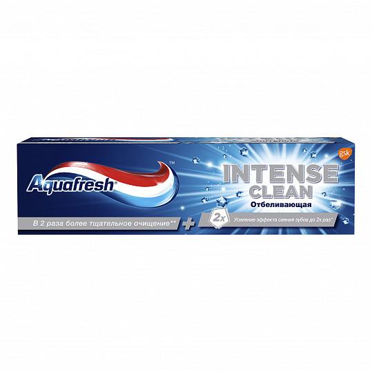 Аквафреш интенсивное очищение, отбеливание, отбеливающая зубная паста, 75мл, фото №8