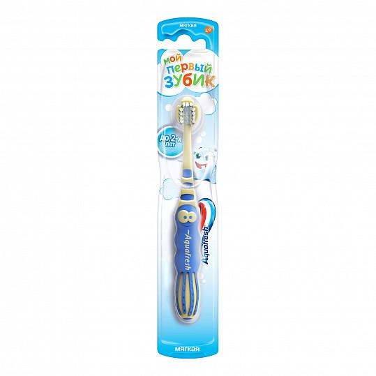 Аквафреш мой первый зубик, зубная щетка для детей от 3 до 5 лет, фото №3