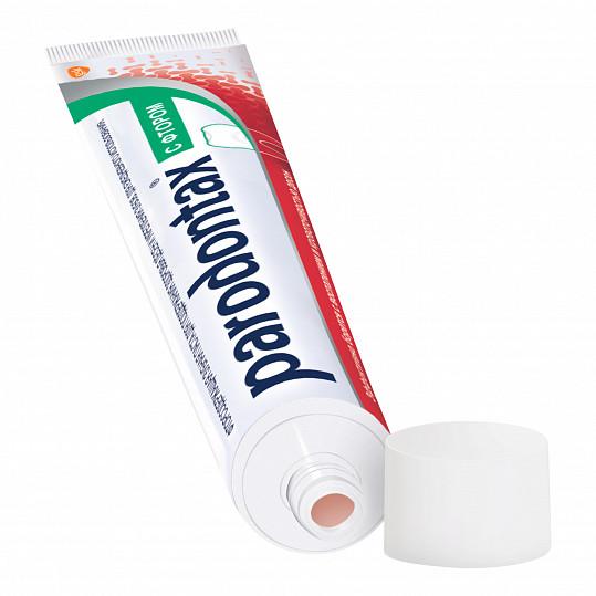Пародонтакс с фтором, зубная паста, 75мл, фото №4