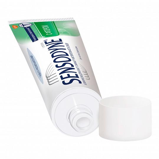 Сенсодин с фтором, зубная паста для чувствительных зубов, 75мл, фото №4