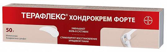Терафлекс хондрокрем форте 1%+5% 50г крем для наружного применения, фото №3