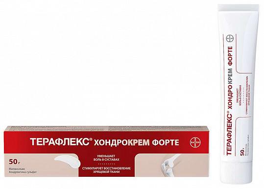Терафлекс хондрокрем форте 1%+5% 50г крем для наружного применения, фото №4