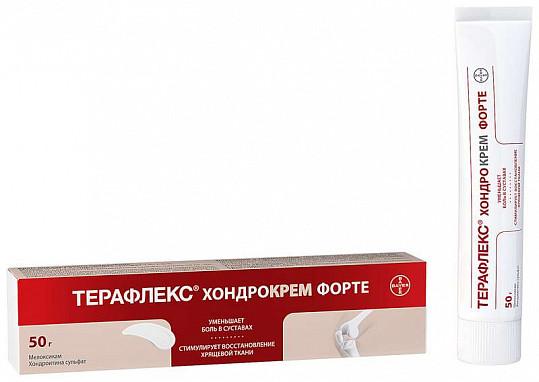 Терафлекс хондрокрем форте 1%+5% 50г крем для наружного применения, фото №5