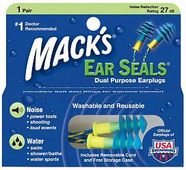 Беруши макс earseals 1 шт. пар