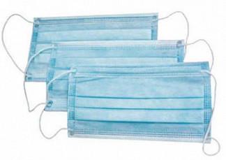 Вива маска медицинская трехслойная на резинке в индивидуальной упаковке 3 шт.