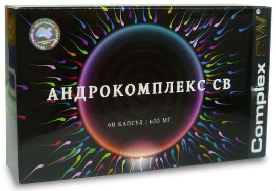 Андрокомплекс св капсулы 60 шт., фото №1
