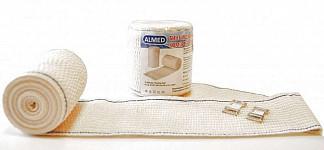 Альмед бинт эластичный медицинский компрессионный ср 80ммх5м с застежкой