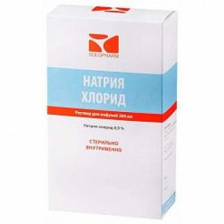 Натрия хлорид-солофарм 0,9% 200мл 1 шт. раствор для инфузий домус