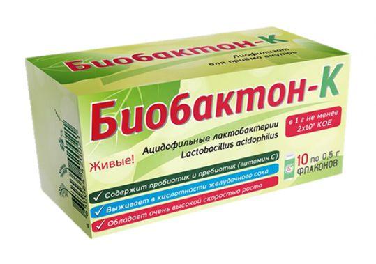 Биобактон-к порошок 0,5г 10 шт., фото №1
