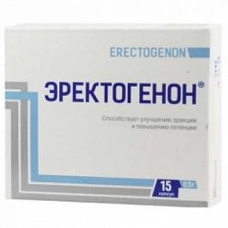 Эректогенон капсулы 0,5г 15 шт.