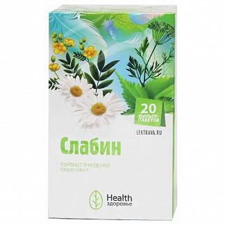 Слабин фиточай слабительный 20 шт. здоровье