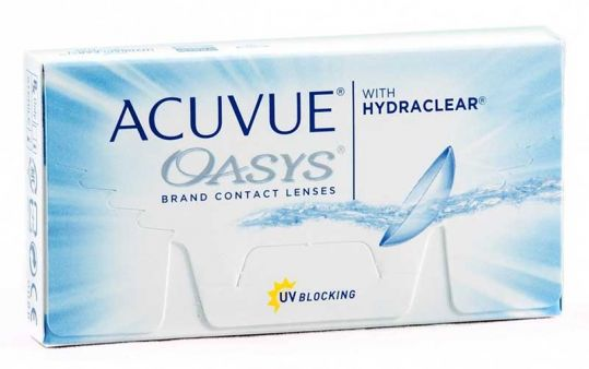 Акувью оазис линзы контактные r8.4 -5,50 1 шт., фото №1
