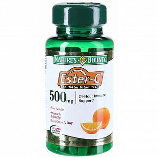 Нэйчес баунти таблетки 500мг эстер-с 60 шт.
