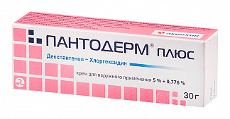 Пантодерм плюс 5%+0,776% 30г крем для наружного применения