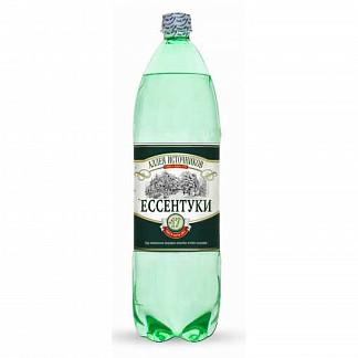 Аллея источников ессентуки вода минеральная газированная n17 1,5л n6 бутылка пэт.