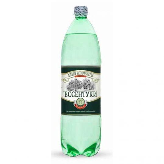 Аллея источников ессентуки вода минеральная газированная n17 1,5л n6 бутылка пэт., фото №1