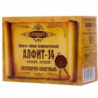 Алфит 14 желудочно-кишечный фитосбор утренний/вечерний 2г 60 шт.