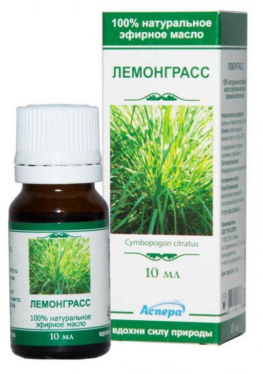 Аспера масло эфирное лемонграсс 10мл, фото №1