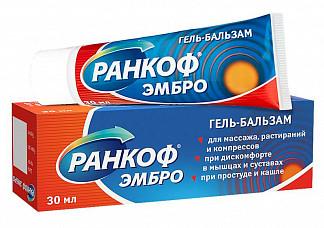 Ранкоф эмбро гель-бальзам 30мл
