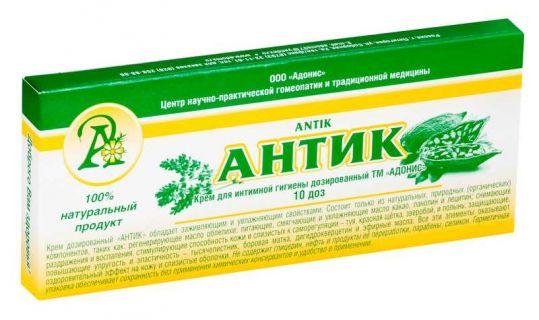 Антик крем для интимной гигиены дозированный 10 шт., фото №1