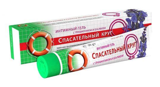 Спасательный круг гель интимный пребиотик/шалфей 50мл, фото №1