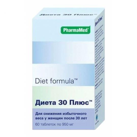 Диет формула диета 30 плюс таблетки 60 шт., фото №1