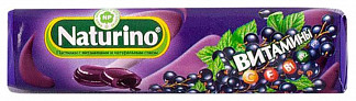 Натурино с витаминами и натуральным соком пастилки черная смородина 36,4г