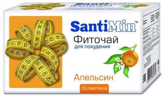 Сантимин чай апельсин 30 шт. фильтр-пакет, фото №1