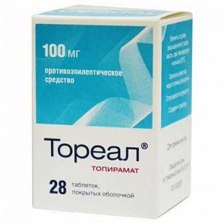 Тореал 100мг 28 шт. таблетки покрытые оболочкой
