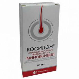 Косилон 2% 60мл раствор для наружного применения