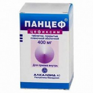Панцеф 400мг 10 шт. таблетки покрытые пленочной оболочкой