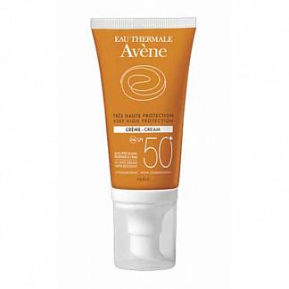 Авен крем солнцезащитный spf50+ 50мл