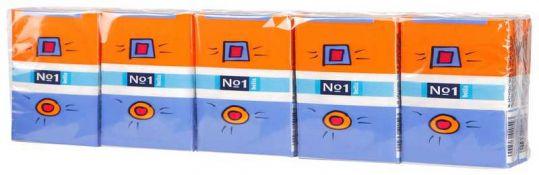 Белла 1 шт. платки носовые трехслойные 1 шт.0х10, фото №1