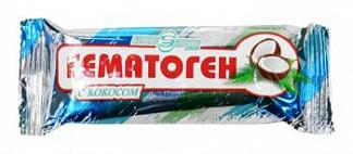 Гематоген народный с кокосом 40г