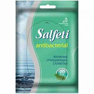 Салфети салфетки влажные антибактериальные 20 шт.