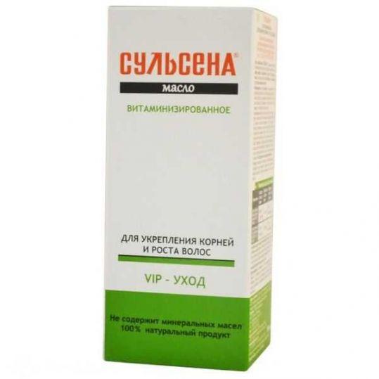 Сульсена масло витаминизированной для укрепления/роста волос 100мл, фото №1